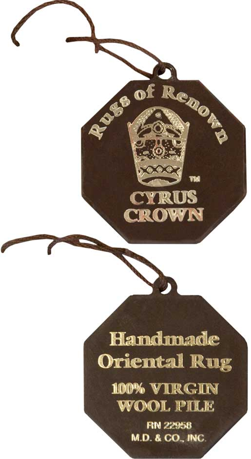 Cyrus Crown® tag