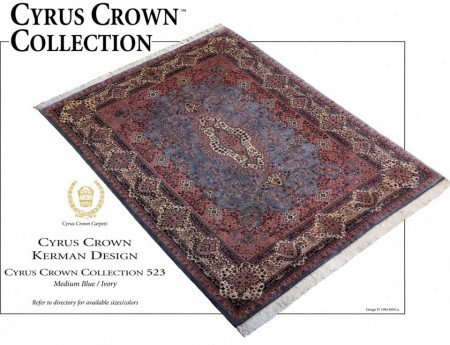 Oriental Rug 90s Cyrus Crown Collection